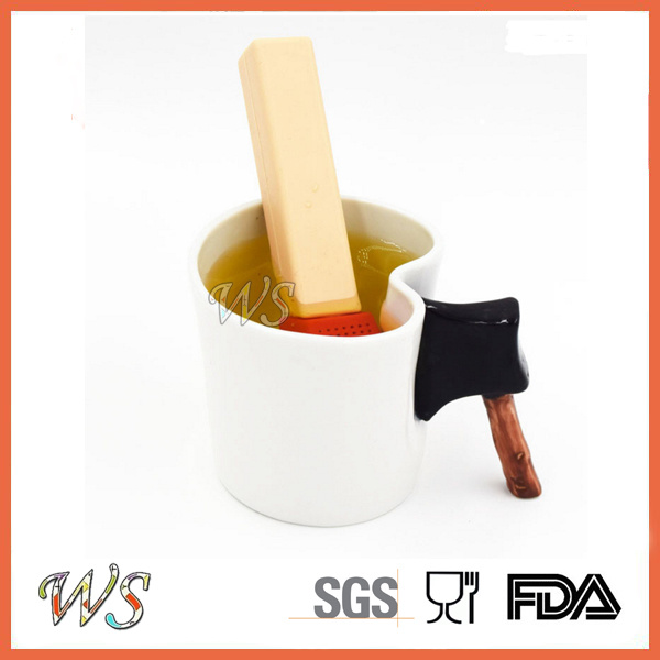 Ws-If060 Food Grade Silicone Match Tea Infuser Leaf Strainer for Mug Cup, Tea Pot