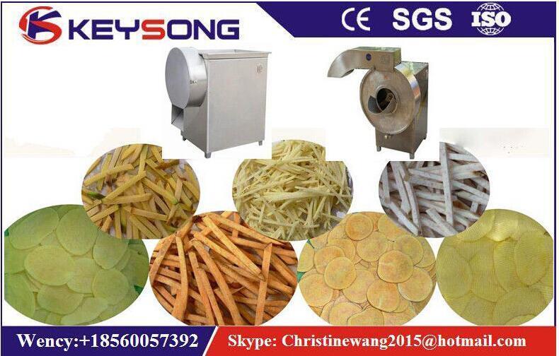 Multi-Function Potato Chips Processing Machine Cutter