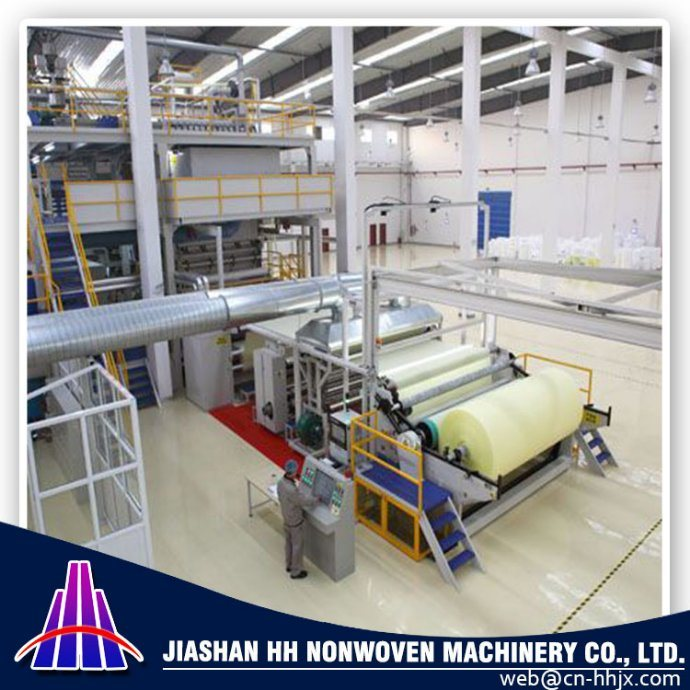 2.4m SSS PP Spunbond Nonwoven Fabric Machine