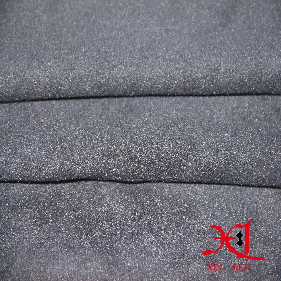 Popular 100% Cation Polyester Fleece Fabric for Curtain