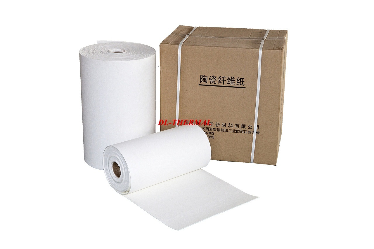 8mm Refractory Thermal Insulation Bio-Soluble Ceramic Fiber Paper