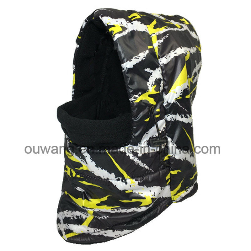 Winter Custom Windproof Waterproof Ski Mask Hat Fleece Scarf Balaclava