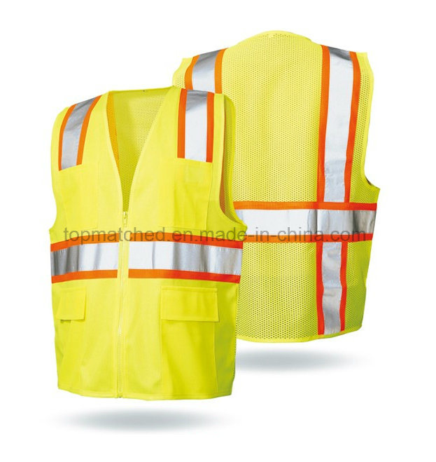 Yellow Wholesale Reflective Safety Vest