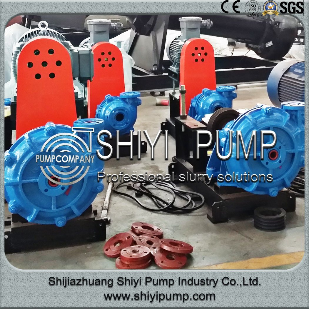 Medium Duty Fine Tailing Handling Water Treatment Centrifugal Slurry Pump