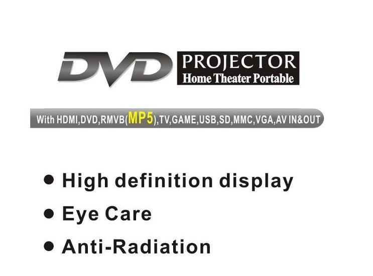 Yi-538 Home Entertainment DVD Projector