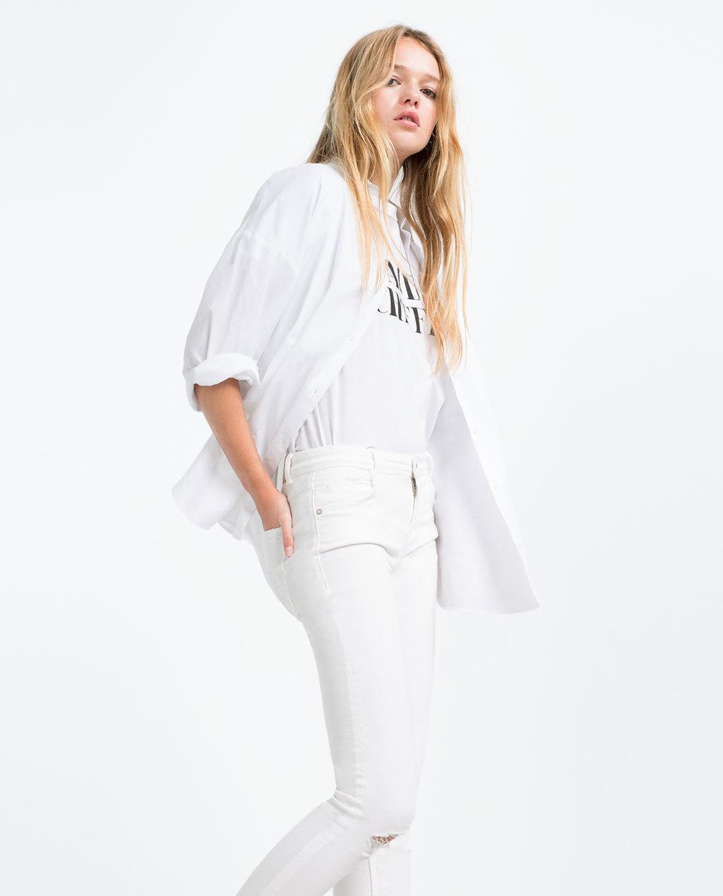 Fashioned women skinny jean