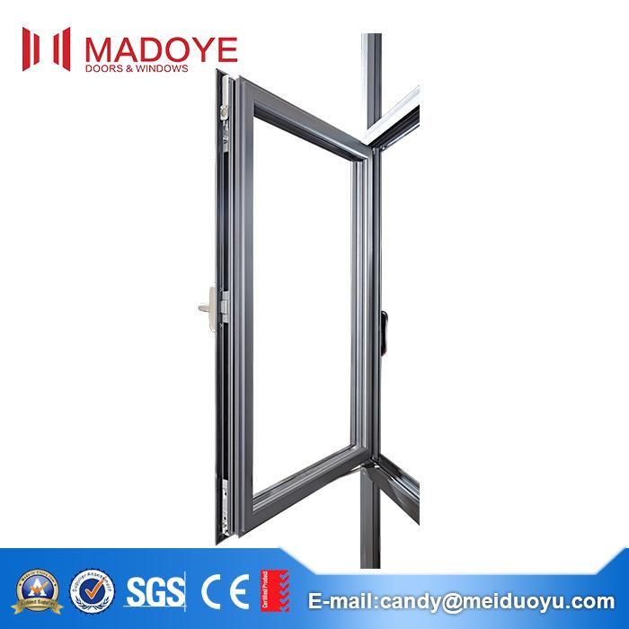Professional Aluminium Alloy Frame Tempered Glass Sliding Window