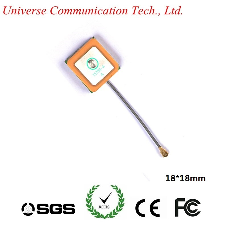 GPS Patch Antenna with 1575.42MHz 25dB GPS Internal Antenna