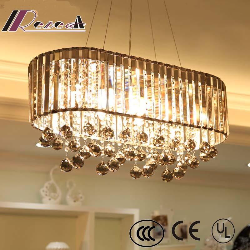 European Hotel Decorative Pendant Handworked Lamp Crystal Chandelier
