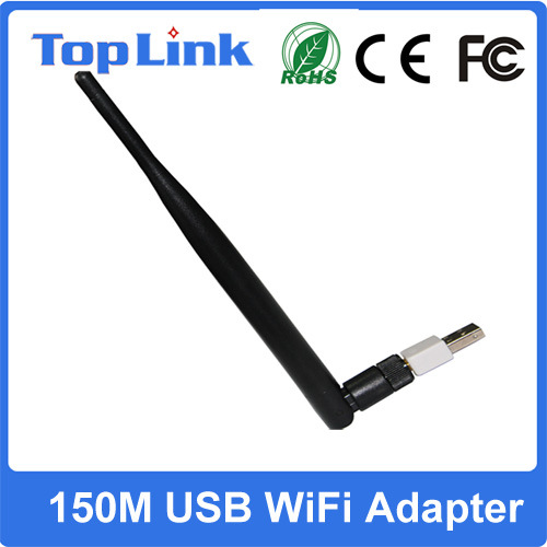 802.11b/G/N 150Mbps Rt5370 USB Wireless WiFi Dongle with RP-SMA Antenna