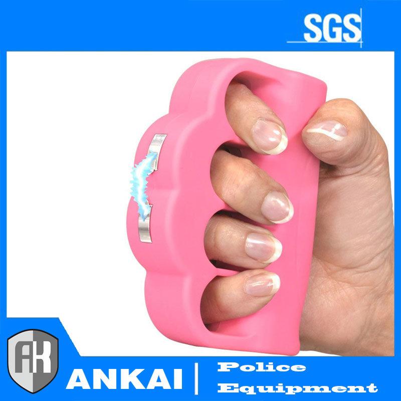 Self Defense/Defence Device Electric Shock Stun Gun (Pink)