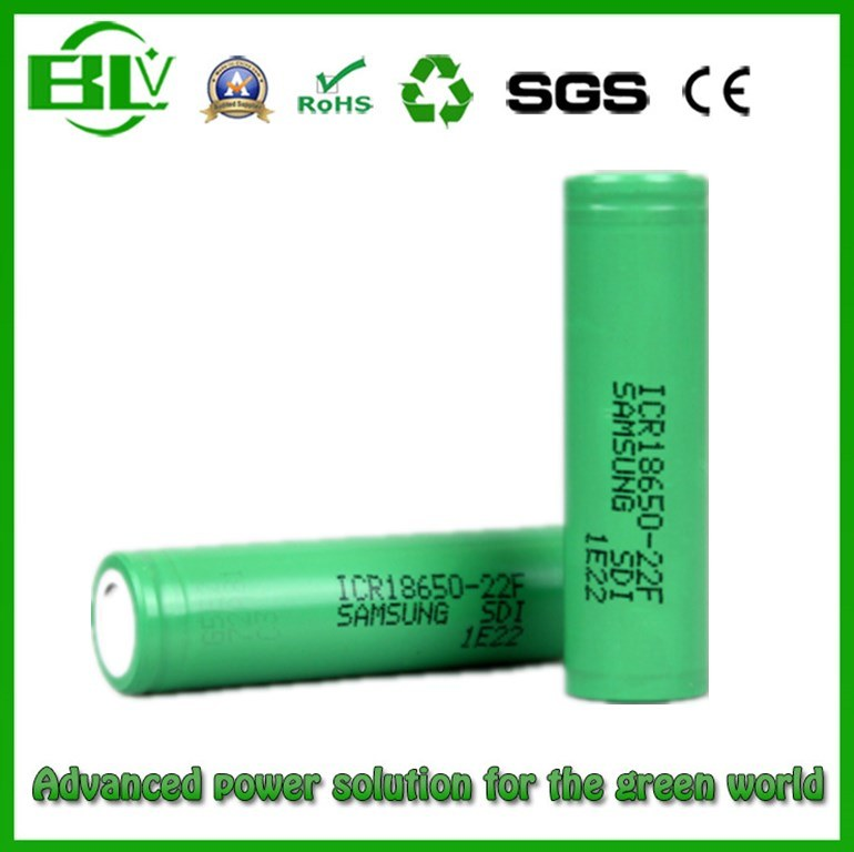 Protected 100% Authentic Long Cycle Life and Safe Quality 18650 2200mAh Li-ion Battery Icr for E-Cigarette