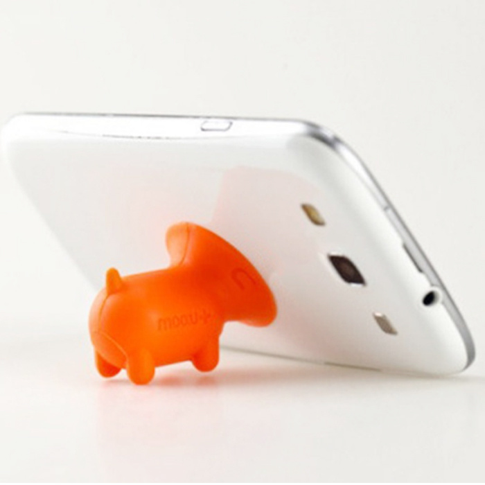 Wholesale OEM Design Pig Shaped Cute Silicone Sucker Phone Holder