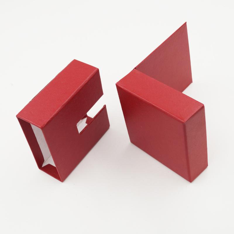 Well-Received Logo Printing Cardboard Packaging Jewelry Box (J32-C1)