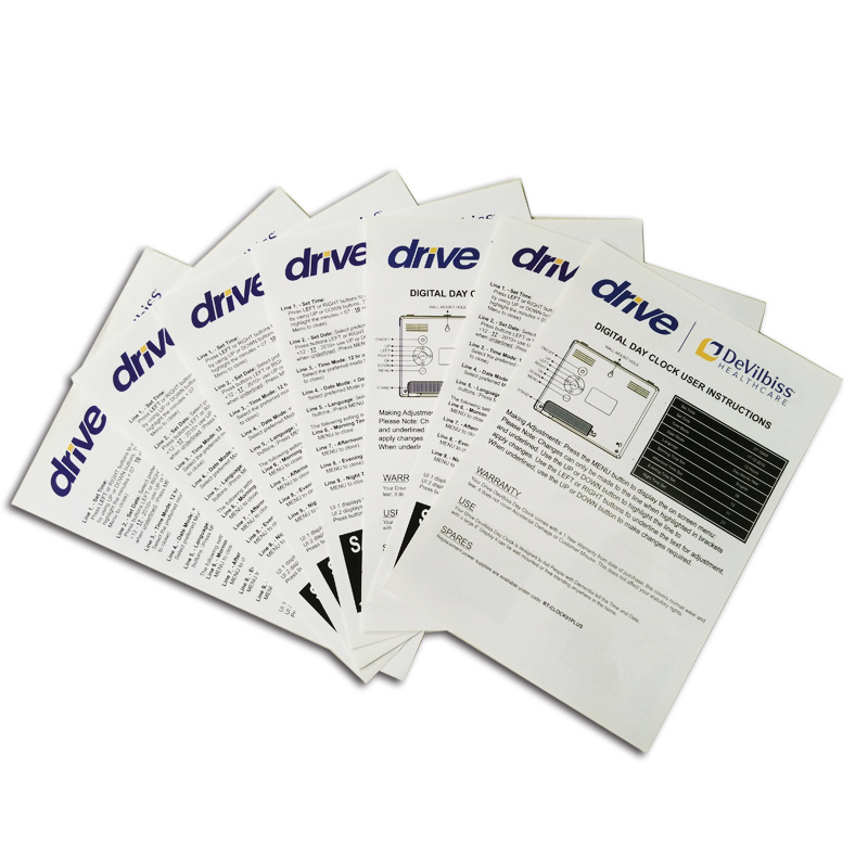 Coated Paper Full Color Printing Customzied Brochure Printing