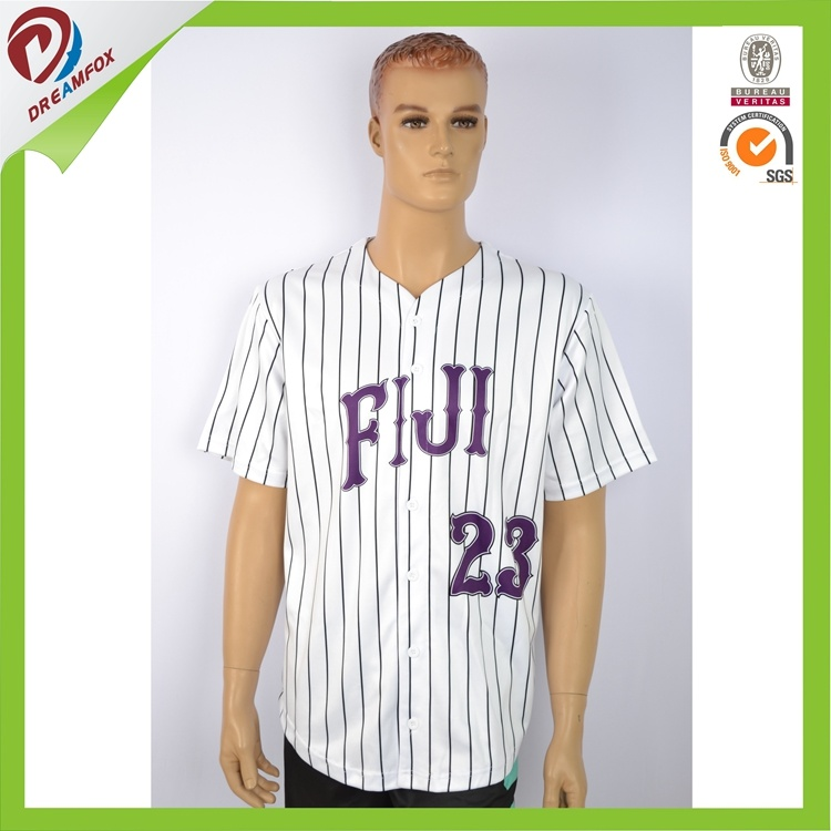 OEM Service Custom Sublimation Baseball Jersey Design