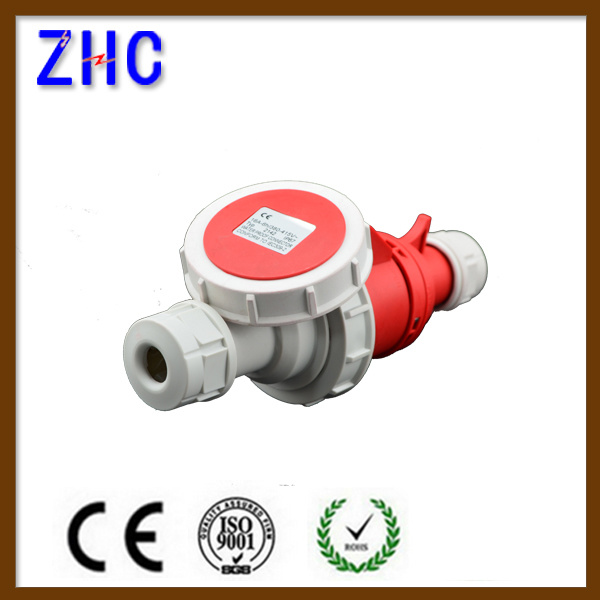 IEC60309-2 CE Approval 220V 3p IP67 Industrial Plug