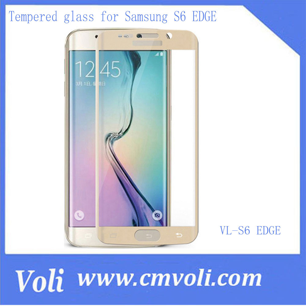 Screen Protector Tempered Glass for Samsung Galaxy S6 Edge