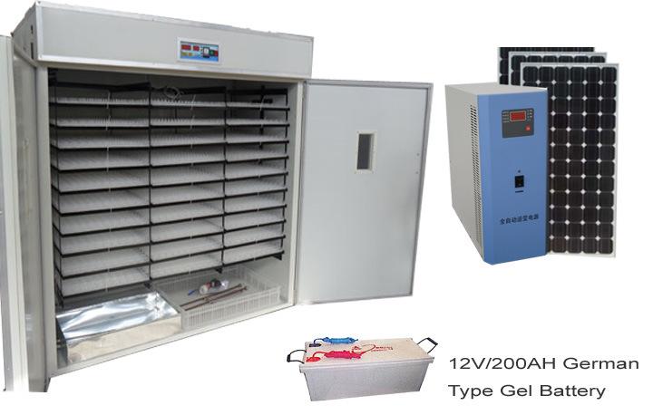 pierrot Eih5280-Solar-Power-Egg-Incubator-Hatchery-Machine