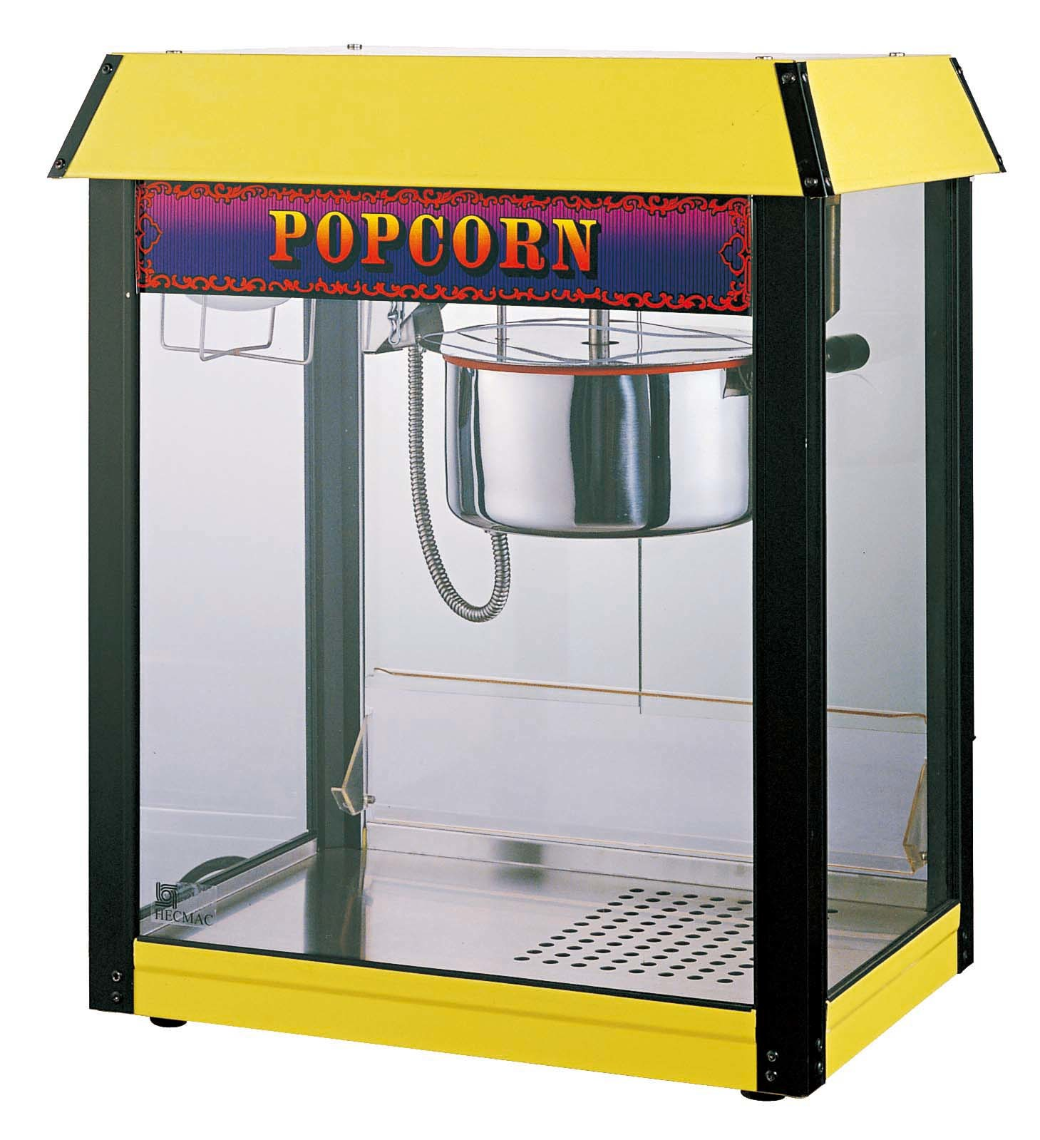 how to use a home popcorn machine