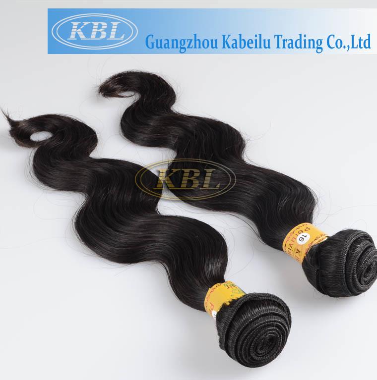 Virgin Peruvian Hair Machine Made Weft (KBL-pH-BW)