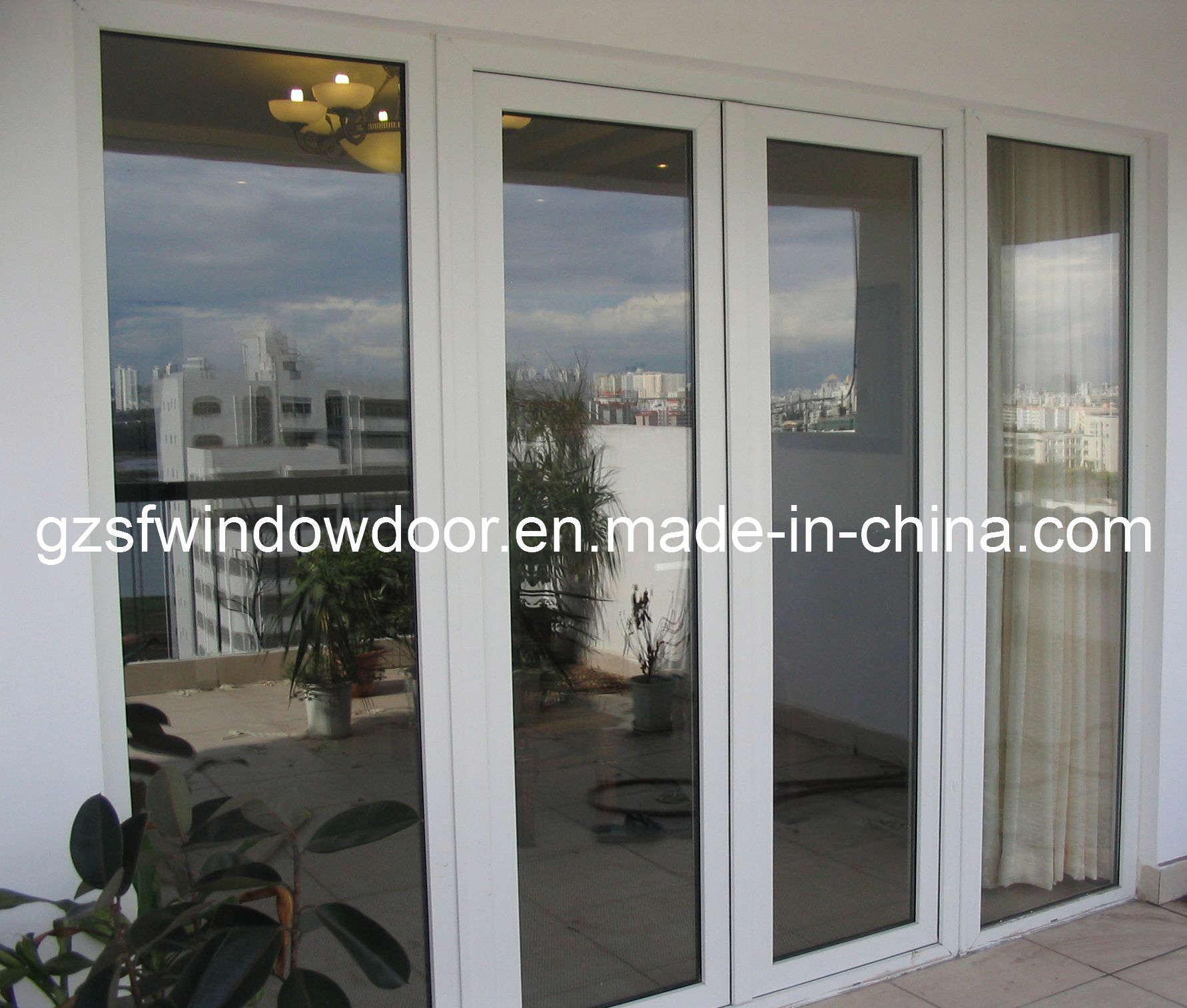 China upvc sliding doors sfpd002 china windows and doors for Upvc sliding glass doors