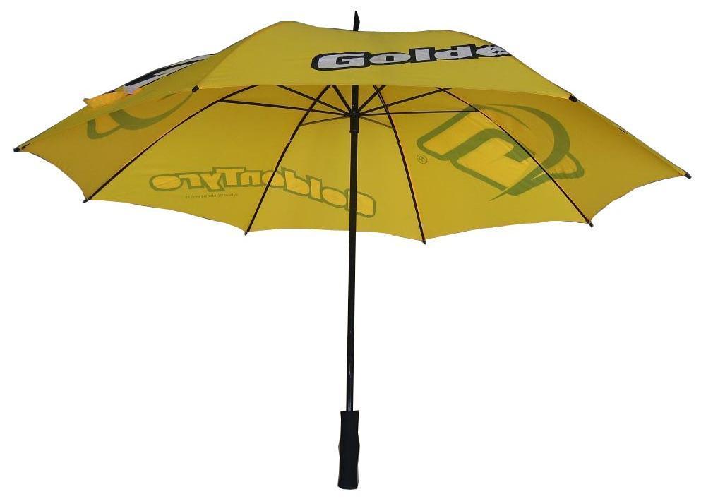 Manual Open Rain Advertising Gift Golf Umbrella (AU002)