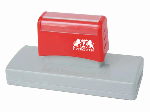 Dual Foam Pre Inked Stamp 32*103mm