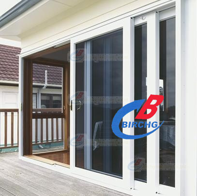 Sliding Industrial Doors from NikoTRACK. Enclosed Monorail Track