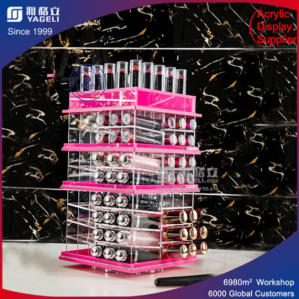 Pin Color Acrylic Lipstick Display
