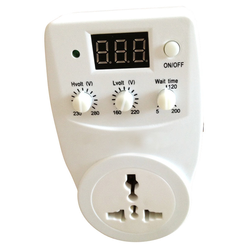 Voltage Stabilizer with Digital Display