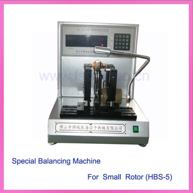 China Special Balancing Machine For Micro Motor Rotor Hbs