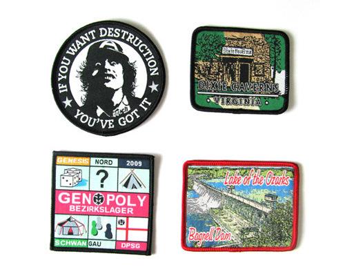 A01 Woven Badges