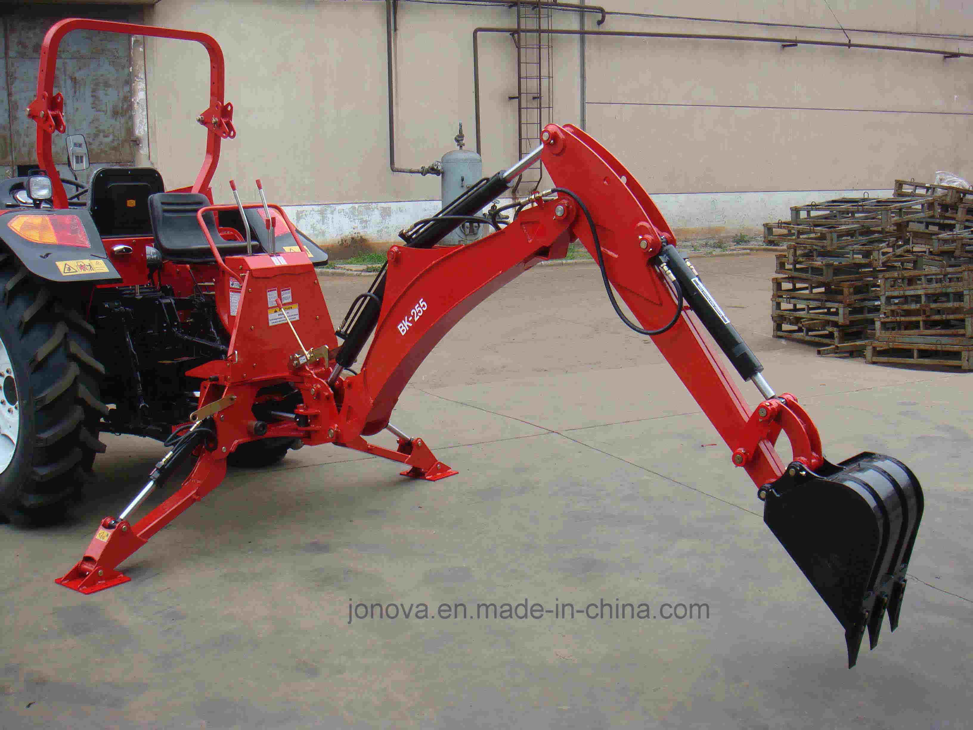 Backhoe Farm Tractor Ce Approved Articulated BK