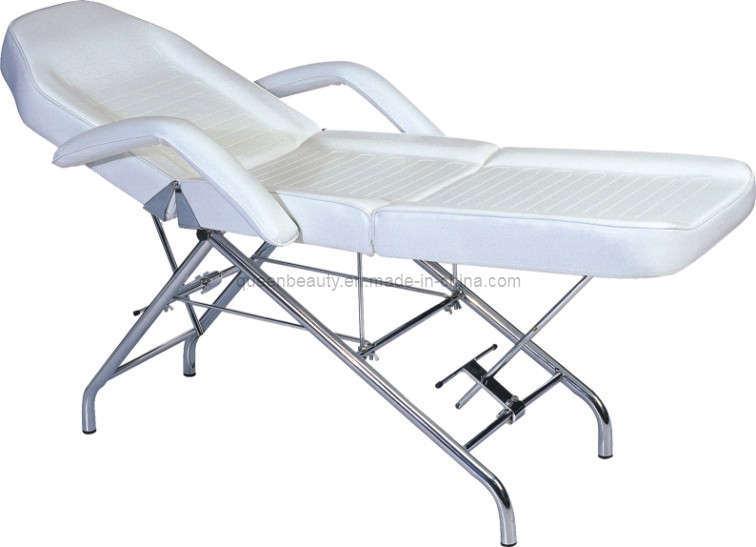 China foldable beauty bed facial bed facial table by b for Foldable beauty table