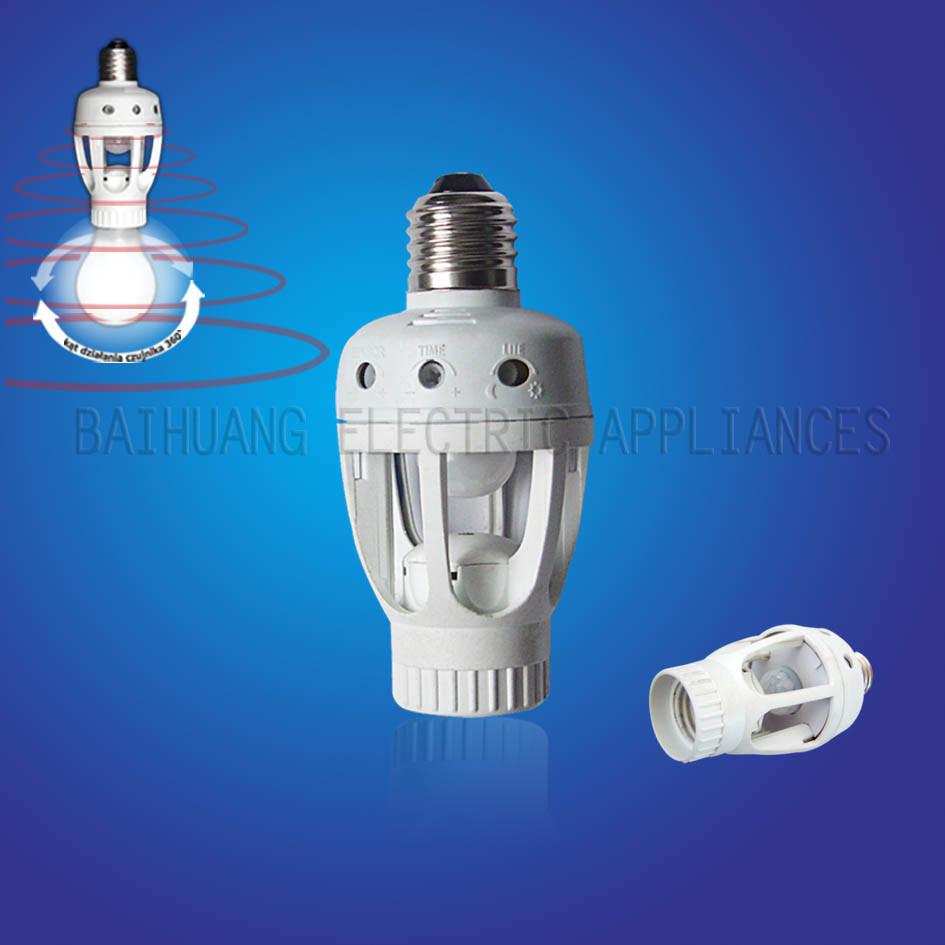motion sensor lamp holder bh0312h 360 china lamp holder light. Black Bedroom Furniture Sets. Home Design Ideas