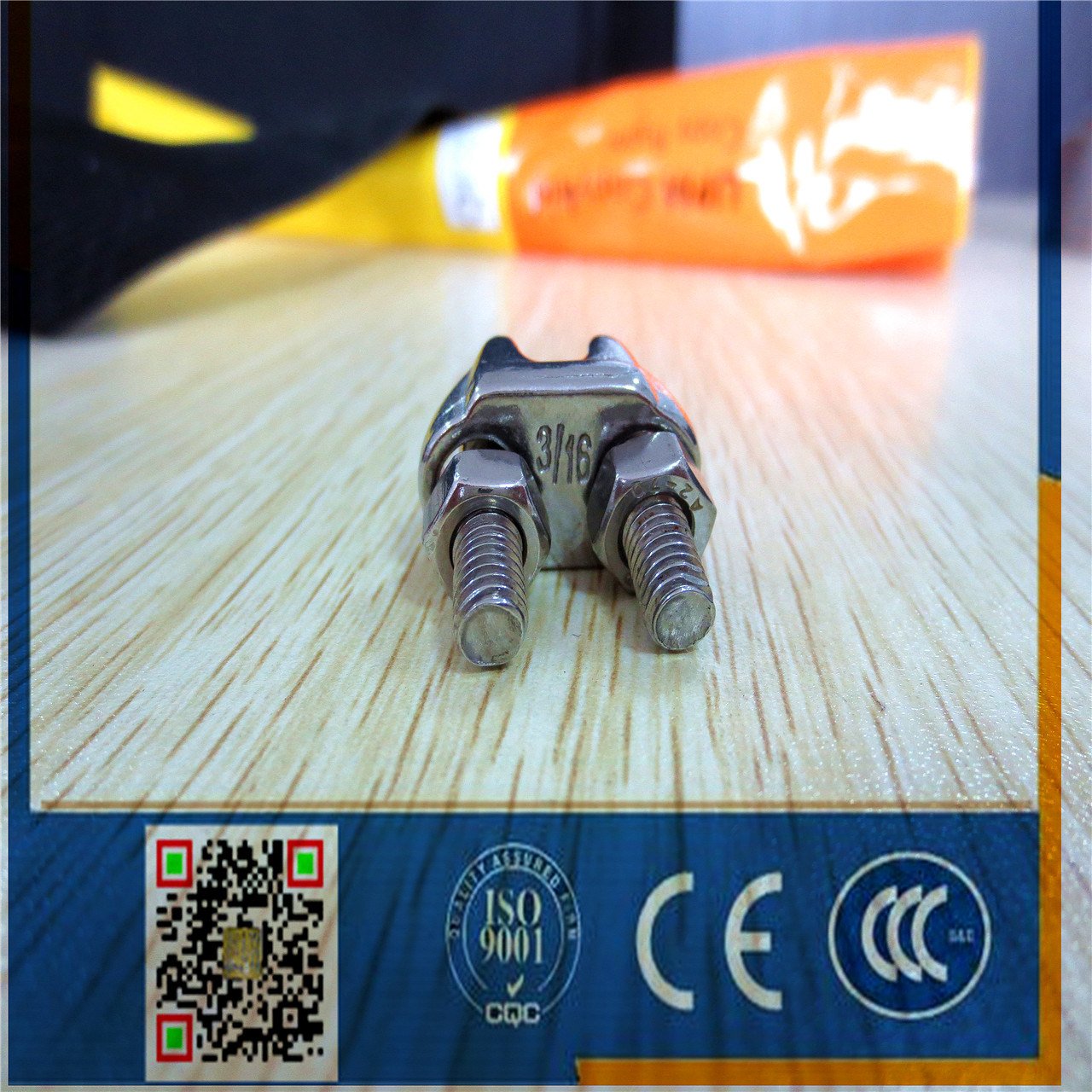 Stainless Steel Wire Rope Clip Us Type