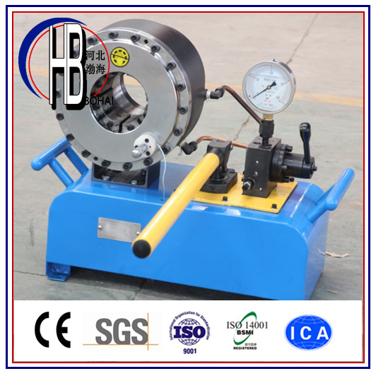 "P20HP Manual Hose Crimping Machine up to 2"" Hose"