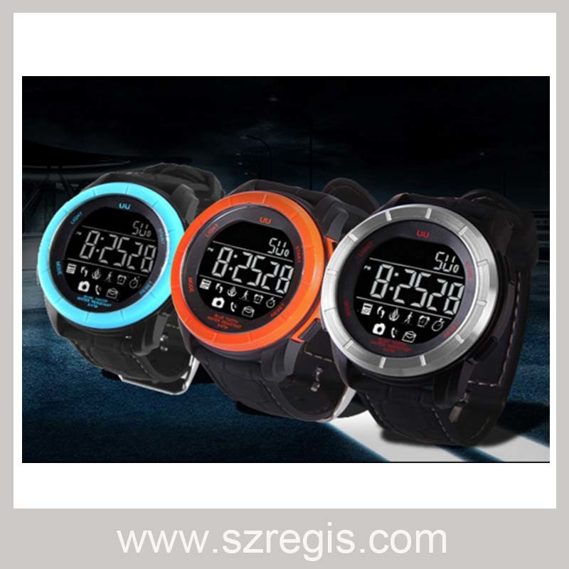 Deep Waterproof Smart Bracelet Watch with Bluetooth Self-Timer Function