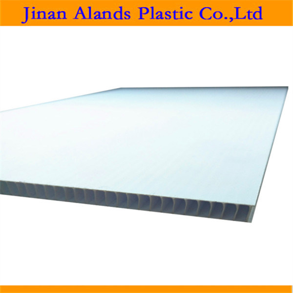 4mm White Coroplast Board PP Hollow Sheet Sheet 1220*2440mm