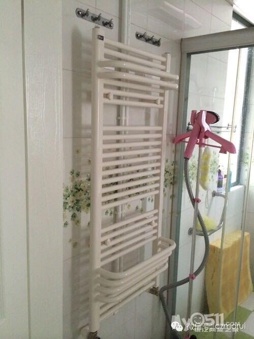 Steel Tube Towel Radiator (Circular tube) Bathroom Radiator /Toilet Radiator