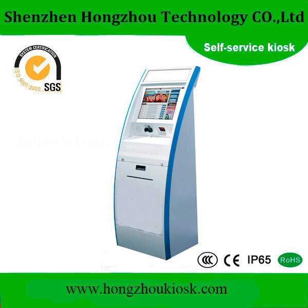 Bank Card Mobile Phone Charging Vending Machine Payment Kiosk