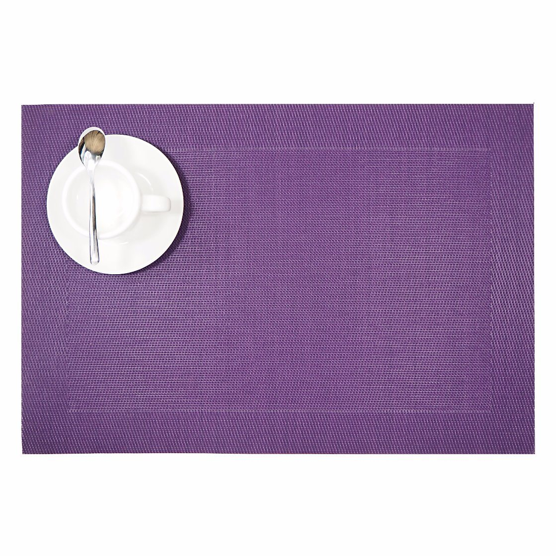Classical Colorful Jacquard Weave Textile Placemat for Tabletop & Flooring