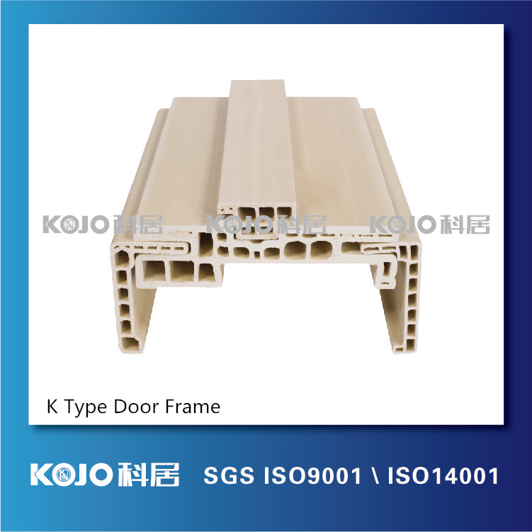 New Material Waterproof Moistureproof Anti-Termite WPC Door Frame (PM-140K)
