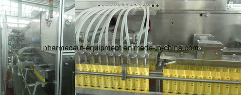 Plastic Ampoule Filling and Sealing Machine for Bdfs-350