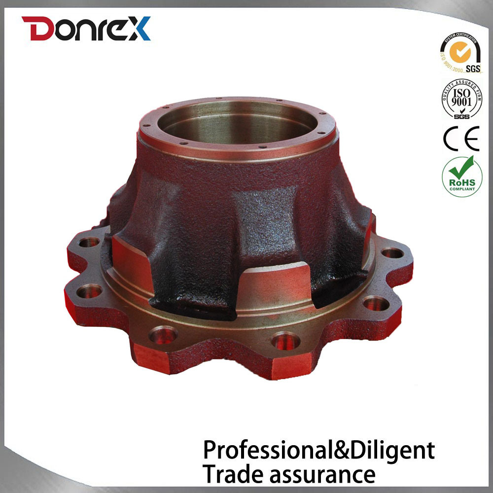 Sand casting sand cast truck car wheel hub