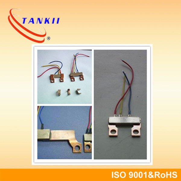 High Technology Copper Manganin Shunt Resistor for Kwh Meter