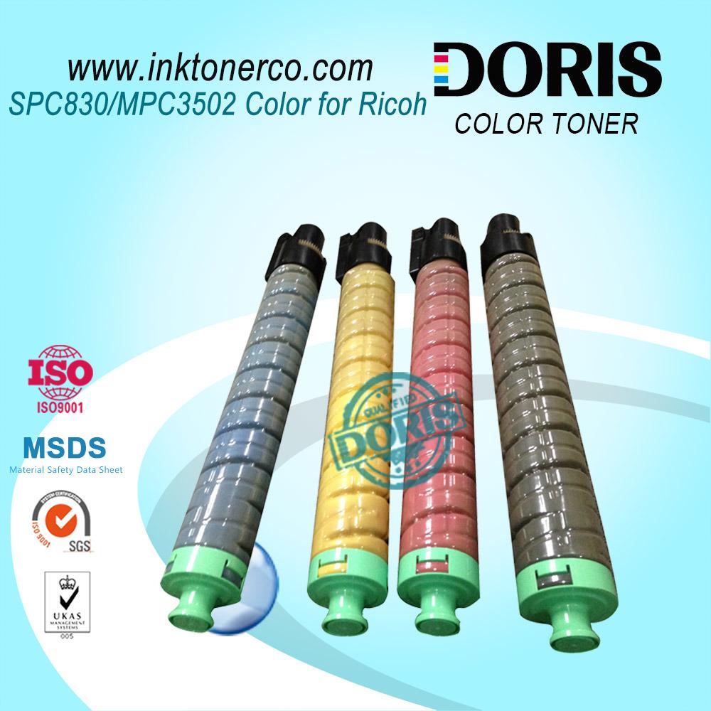 Spc830 Spc831 Mpc3502 Copier Toner for Ricoh Color Machine