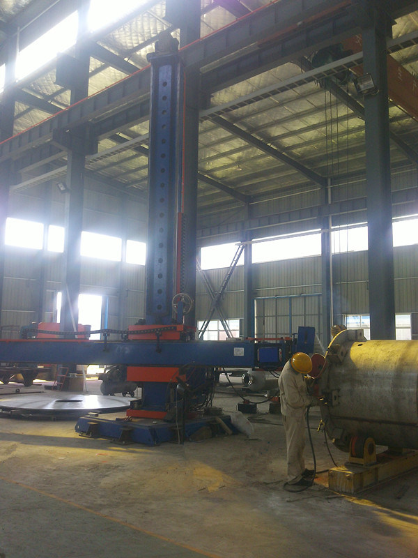 Utility Type Pipe Manipulator, Welding Machine, Column and Boom
