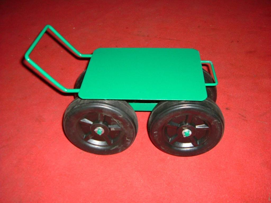 Garden Seat Tool Cart